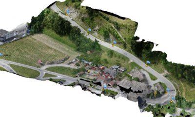 Drone Orthophotographie – Photogrammetrie Par Drone – Étude D'aménagement VRD – Mairie De Groisy (74)