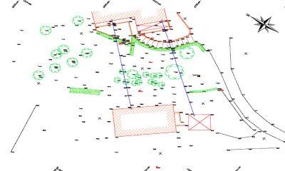 Levés Topographiques Et Modélisation 3D Glissement De Terrain à Ahetze (64)